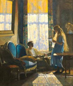 """ South Room Green Street - Daniel Garber Impressionism """