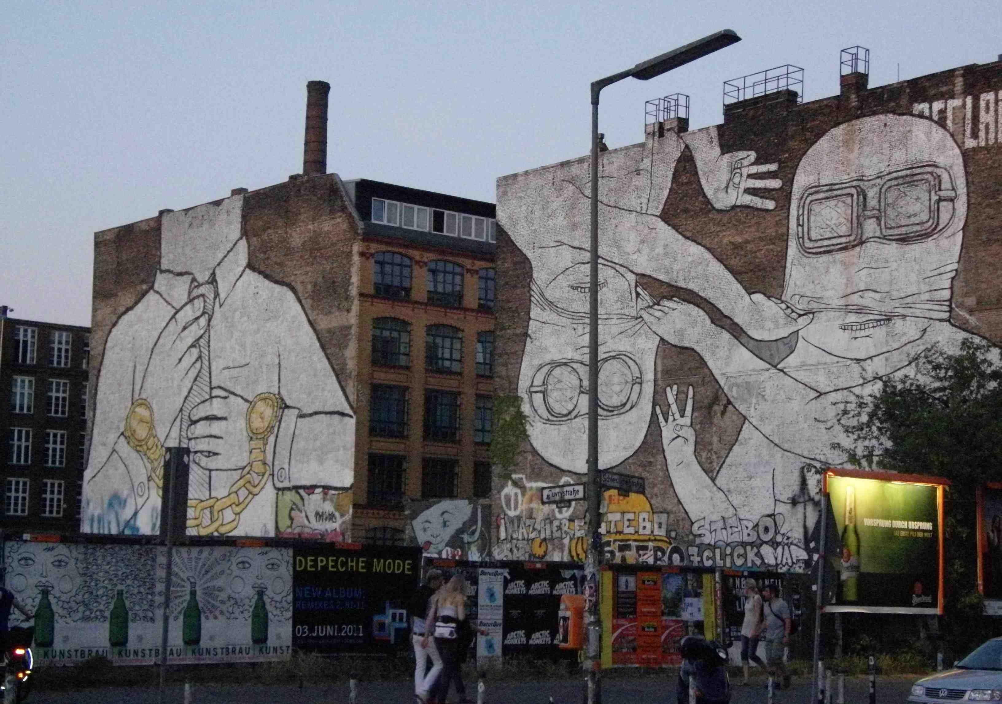 BLU - Berlin | Street Art | Pinterest | Street art