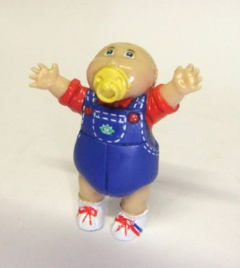 Cabbage Patch Kids Figurine 1984 Cabbage Patch Kids Cabbage Patch Babies Childhood Toys