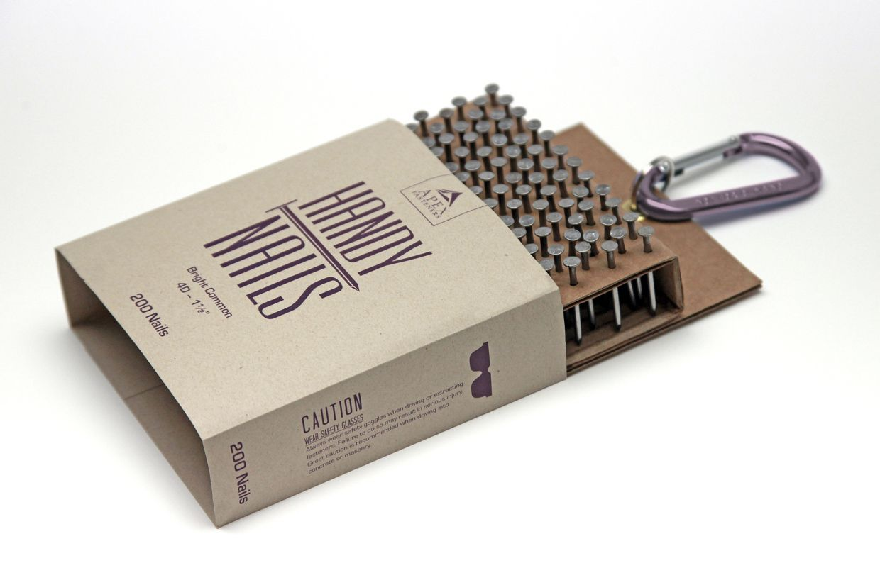 Nail Packaging by Melissa Archer