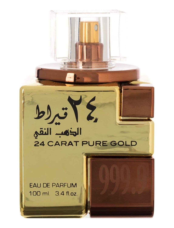 24 Carat Pure Gold For Unisex Eau de Parfum, 100ml Pure