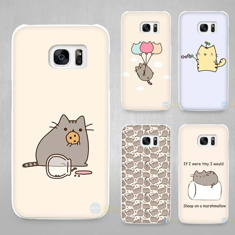 coque iphone 8 pusheen cat