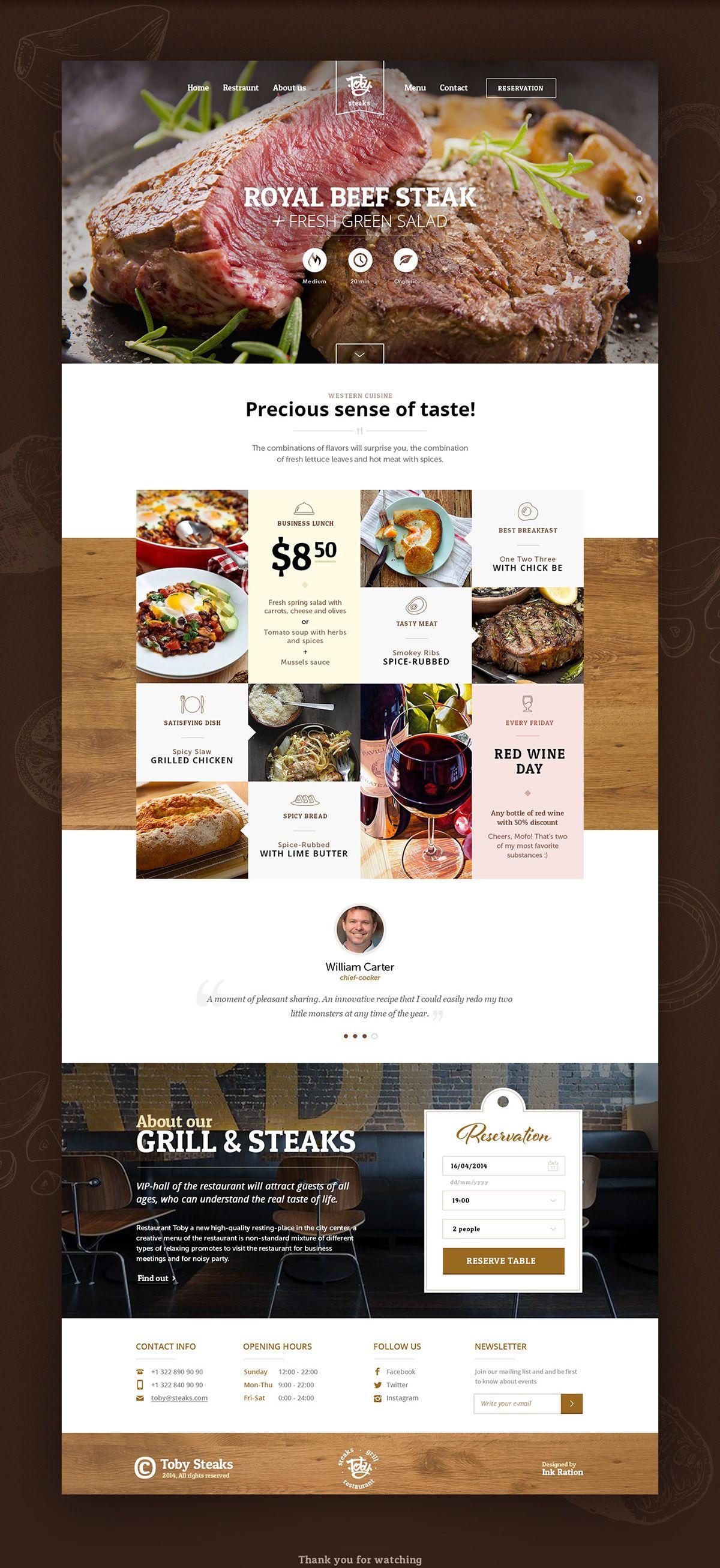 Mario Foods On Web Design Served Food Web Design Web Design Inspiration Web Development Design