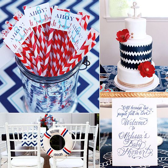 Ahoy, Itu0027s A Boy! Baby Shower On POP Sugar! By Melody Melikian Photography
