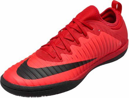 Nike MercurialX Finale II IC - Red Indoor Soccer Shoes