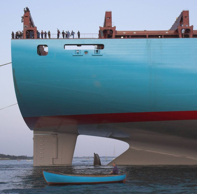 Maersk Emma - Currently...uh...second largest Container Ship In The ...