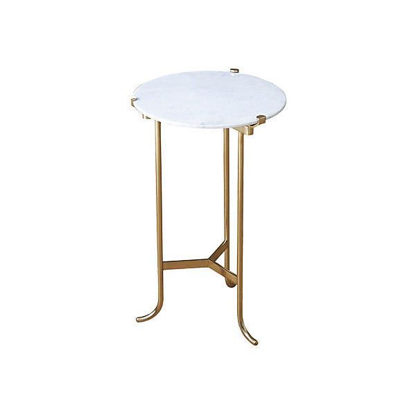 Leo Side Table White Small Standard Side Tables Mini Side Table