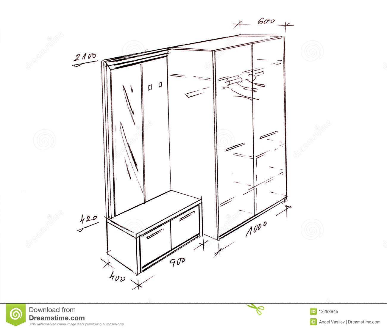 Furniture Design Drawings