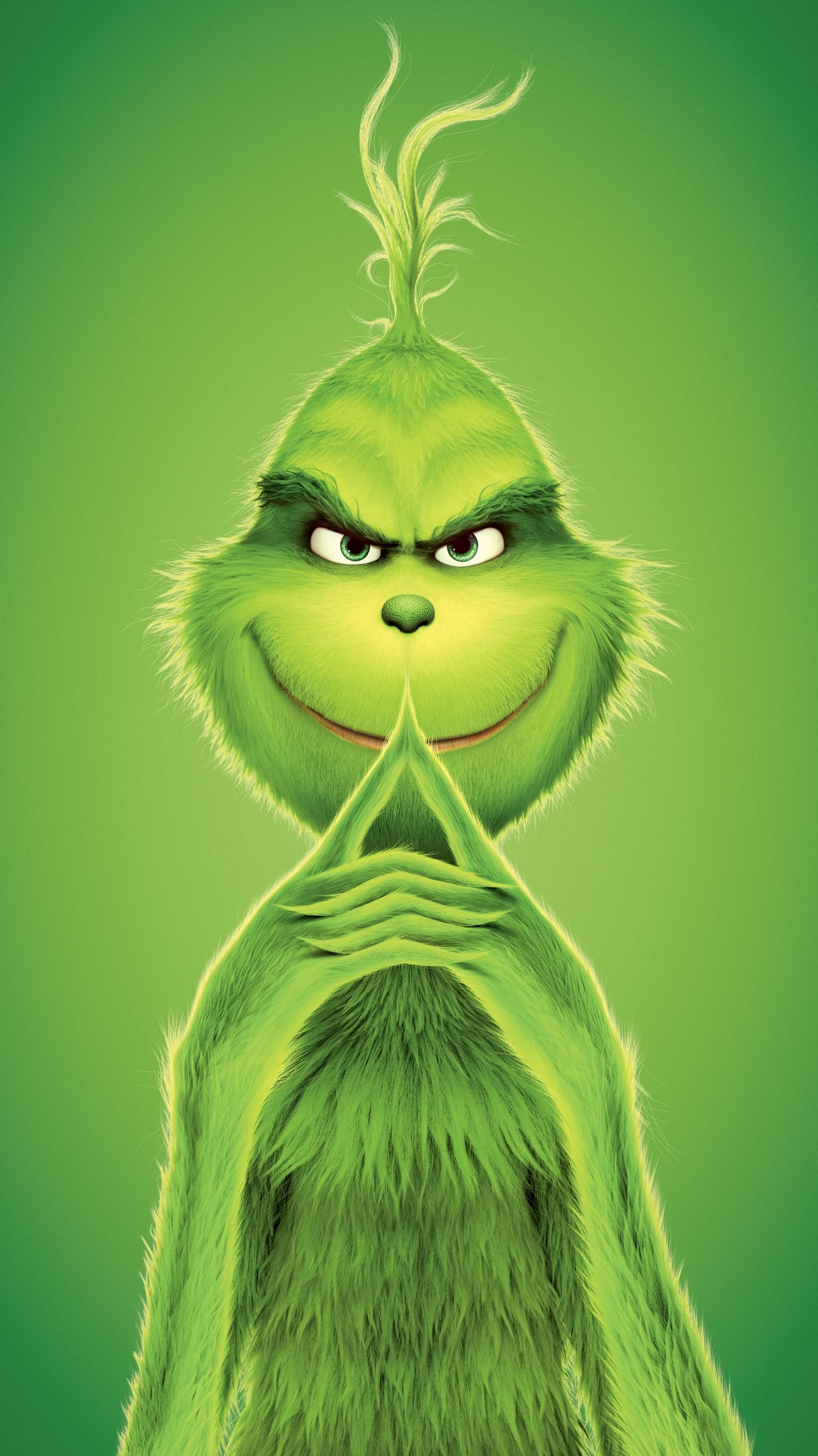 The Grinch (2018) Phone Wallpaper Disney phone wallpaper
