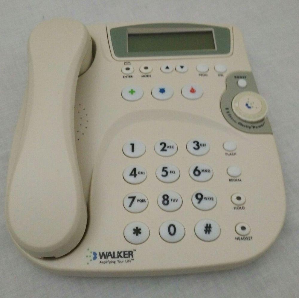 AT/&T CL4939 Corded Telephone Speakerphone Digital Answering Large Tilt Display