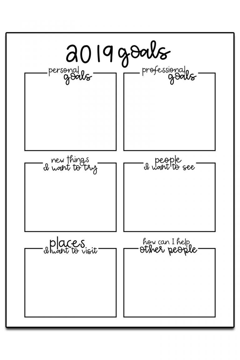Goal Setting Worksheets | Goals worksheet, Goal setting ...