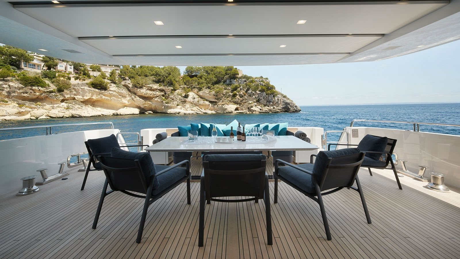 Round Table San Lorenzo Kettal Projects San Lorenzo Yacht Sl118 Park Life Collection