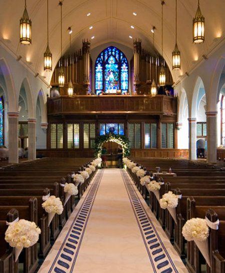 WEDDING Aisle Decorations Keywords: #pewbows #aisledecor ...