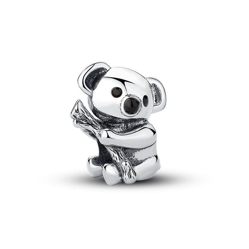 [Sponsored]Koala Charm Bead - White Crystals Sterling Silver - Gift boxed dYQQTq