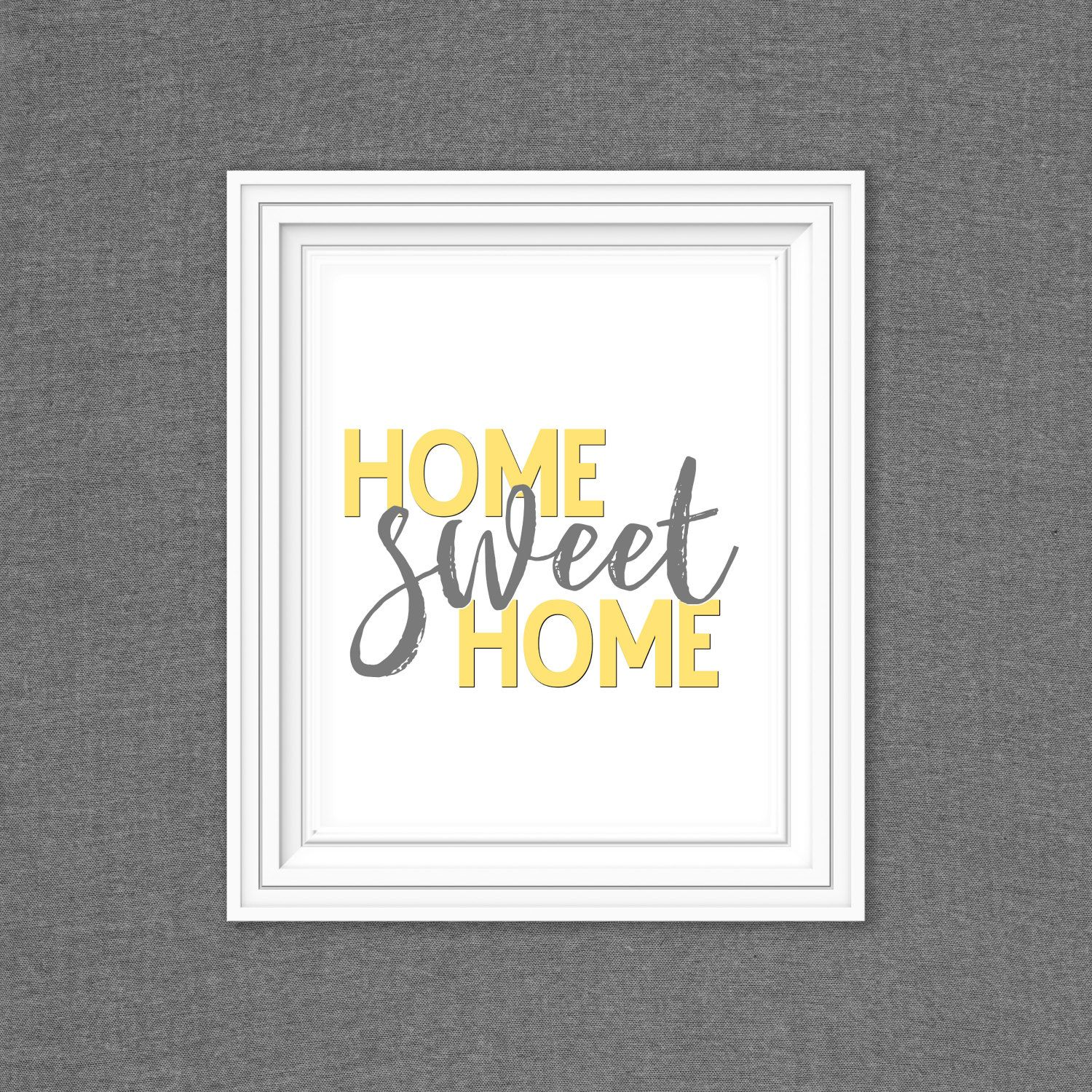 8x10 Home Sweet Home by Mimileeprintables on Etsy