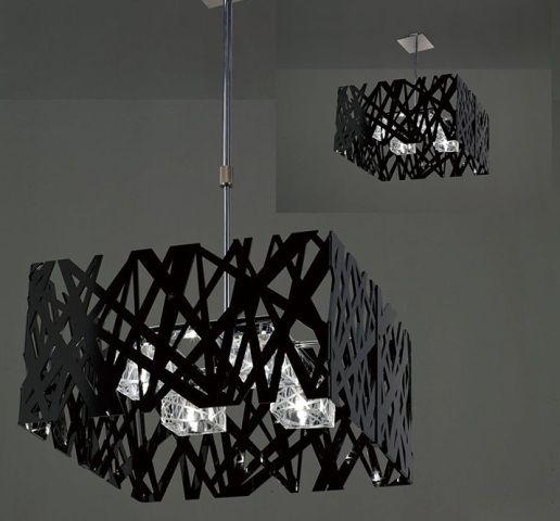 Art Ceiling Lighting Fixtures Black