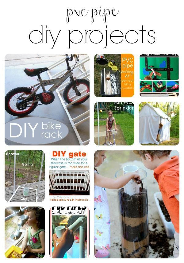 PVC Pipe Projects!! - Delicate Construction | PVC | Pinterest