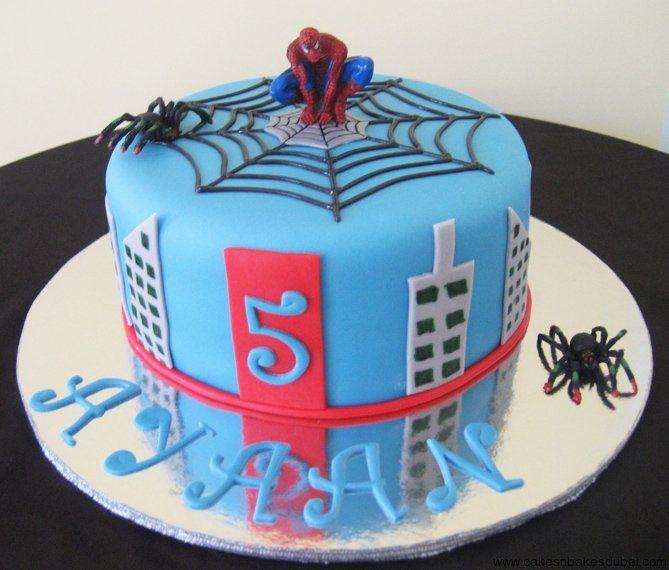Pin Spiderman Cake Dubai Pinterest JoBSPapacom Cakepins