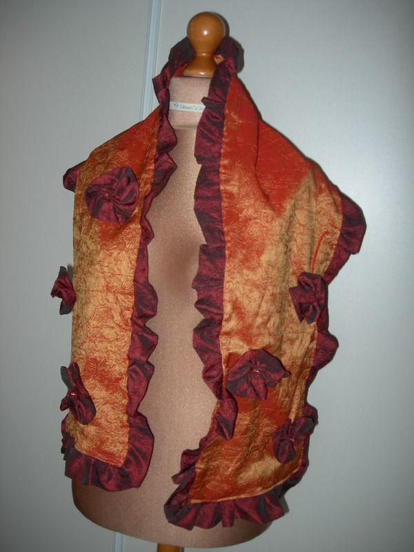 a56f75a1a614 ETOLE D AUTOMNE CHIC - echarpes et foulards - Histoires De Sacs - Fait  Maison