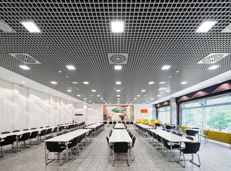 Metal Suspended Ceiling Tile Cellio Armstrong Ceilings Europe