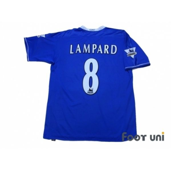 Photo2  Chelsea 2003-2005 Home Shirt  8 Lampard BARCLAYCARD PREMIERSHIP  Patch umbro - 87dee75c7