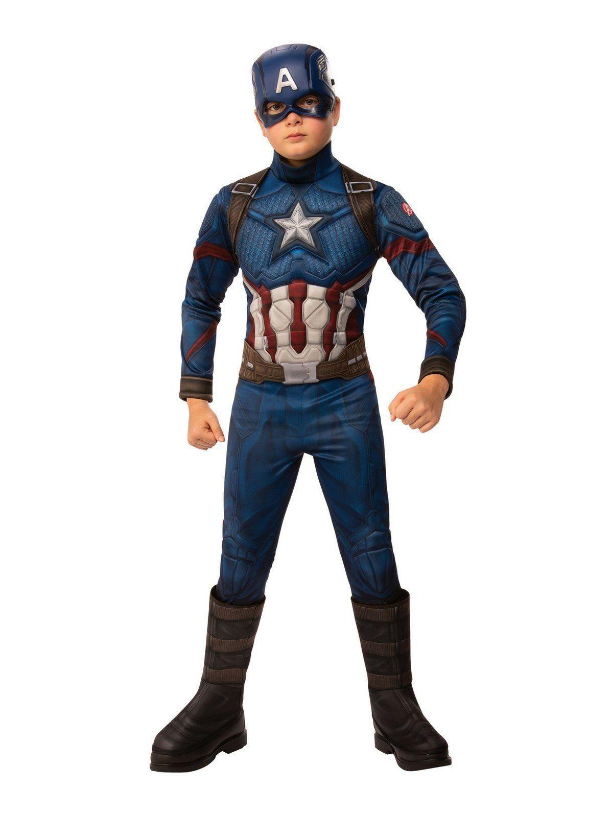 Avengers Endgame Deluxe Captain America Adult Costume