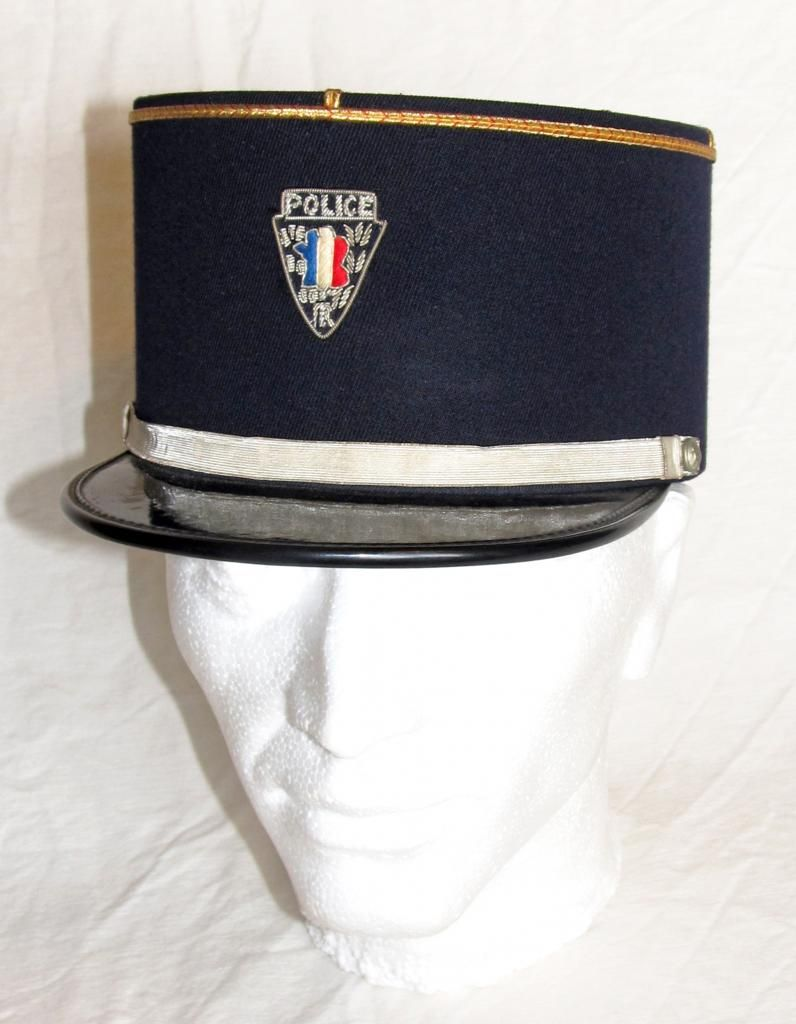 946dc249d36a3 A Dress Uniform Kepi for a sergeant in the Police Nationale