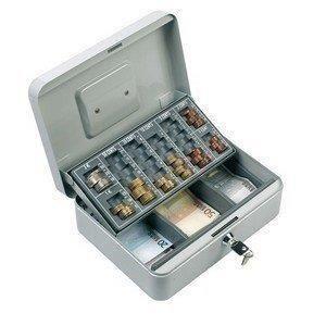 Caisse Monnayeur Euro Piece Monnaie Billets Coffre Caisse A Monnaie Caisse Petit Meuble Rangement