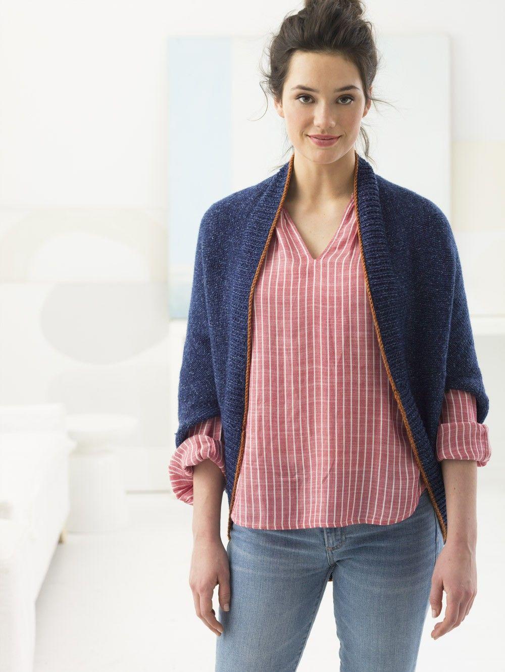 Everyday Shrug (Knit) | Stitches | Pinterest | Tejidos de punto ...