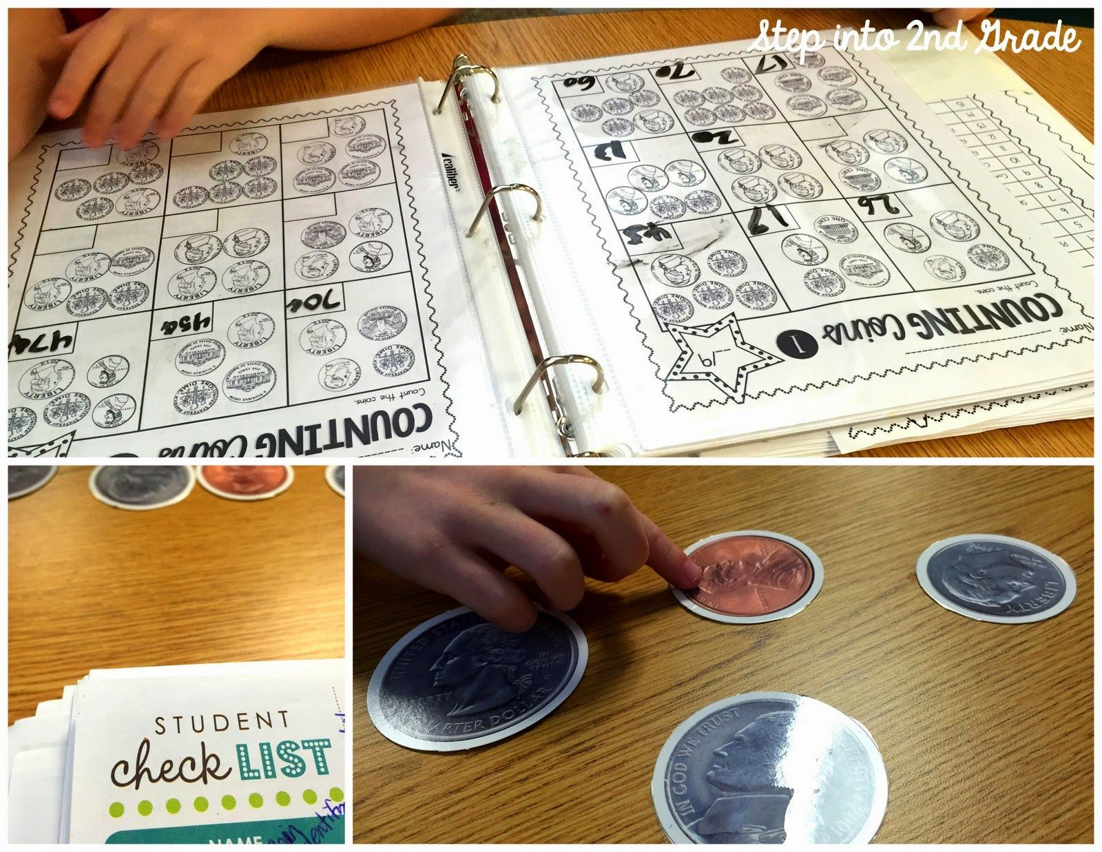 Step Into 2nd Grade With Mrs Lemons Counting Coins