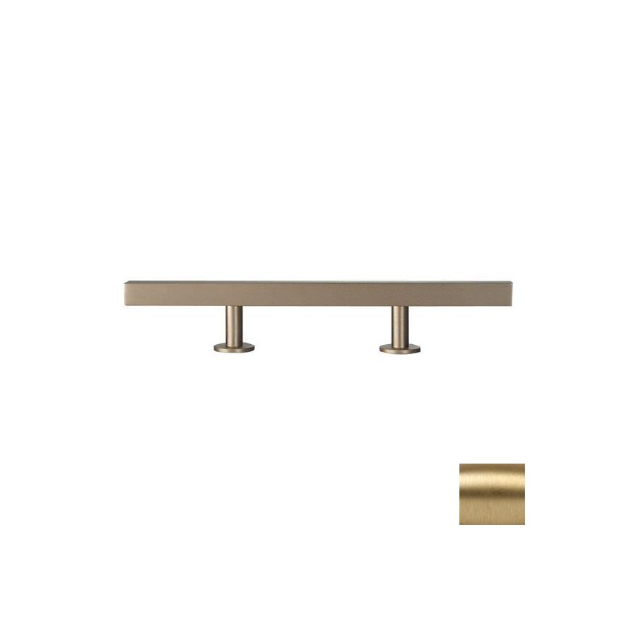 Lew\'s Hardware 3-In Center-To-Center Brushed Brass Bar Series Bar ...