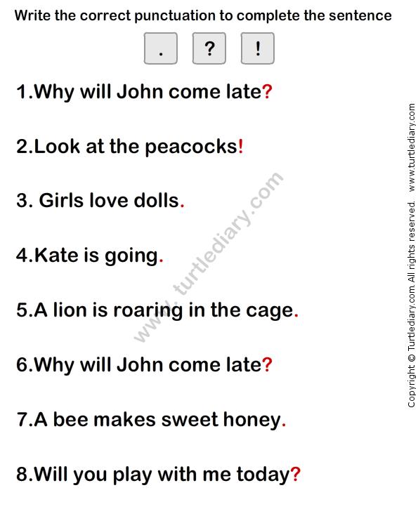 Simple Sentence Worksheet3 eslefl Worksheets grade1 – Simple Sentence Worksheets