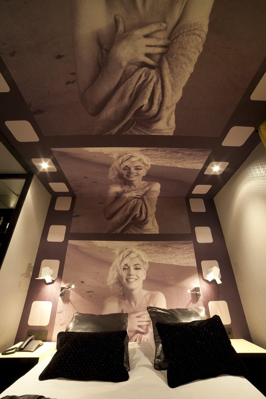 Platine Hotel Paris France Conveniently Marilyn Monroe Bedroom Marilyn Monroe Room Marilyn Monroe Decor