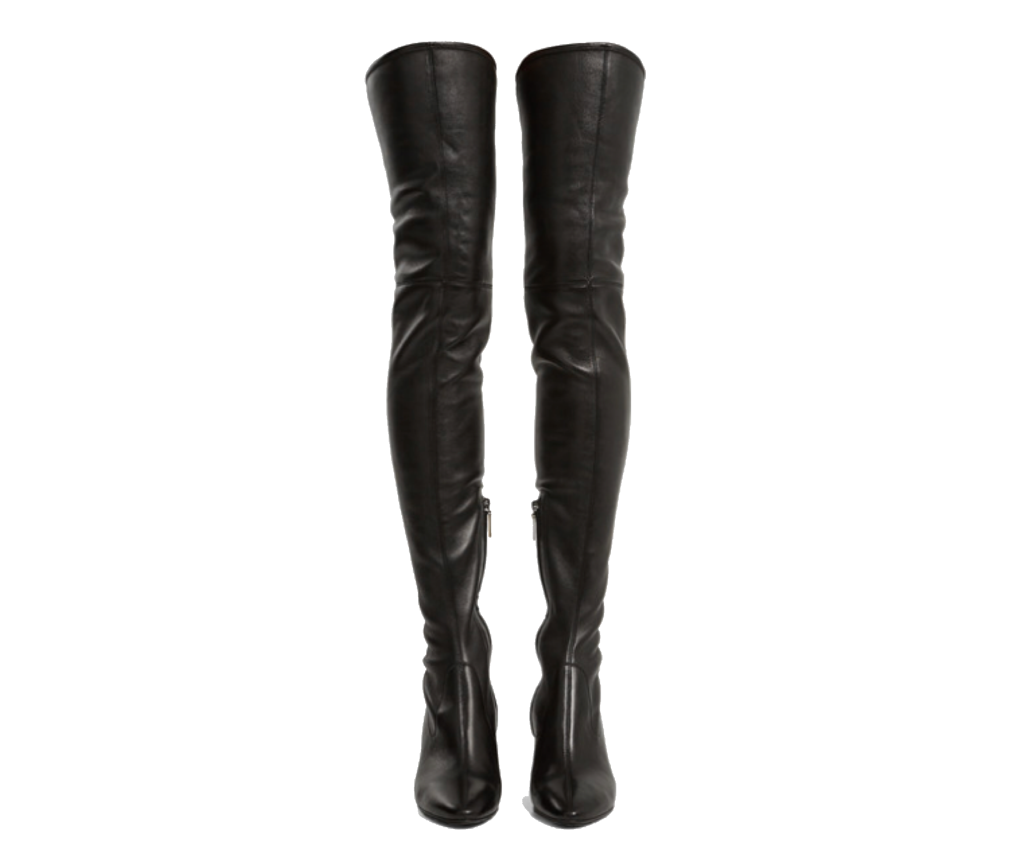 Black Boots Polyvore Moodboard Filler Boots Thigh High Boots Fashion Boots
