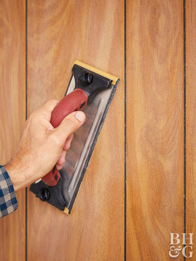 Paint Over Wood Paneling Walls: Painting Wood Paneling, Paint