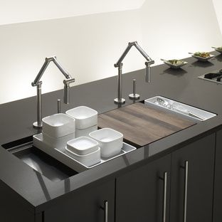 Kohler Stages Kitchen Sink | Dwell | Product Design | Pinterest ...