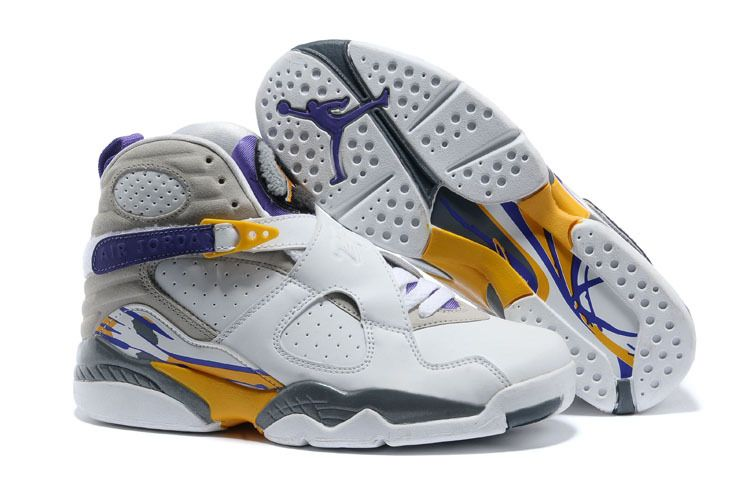 "09f3f260b9b Air Jordan 8 Retro ""Kobe Bryant Lakers Home"" PE For Sale Online ..."