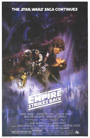 The Empire Strikes Back Star Wars Poster Star Wars Film Star Wars Episodes