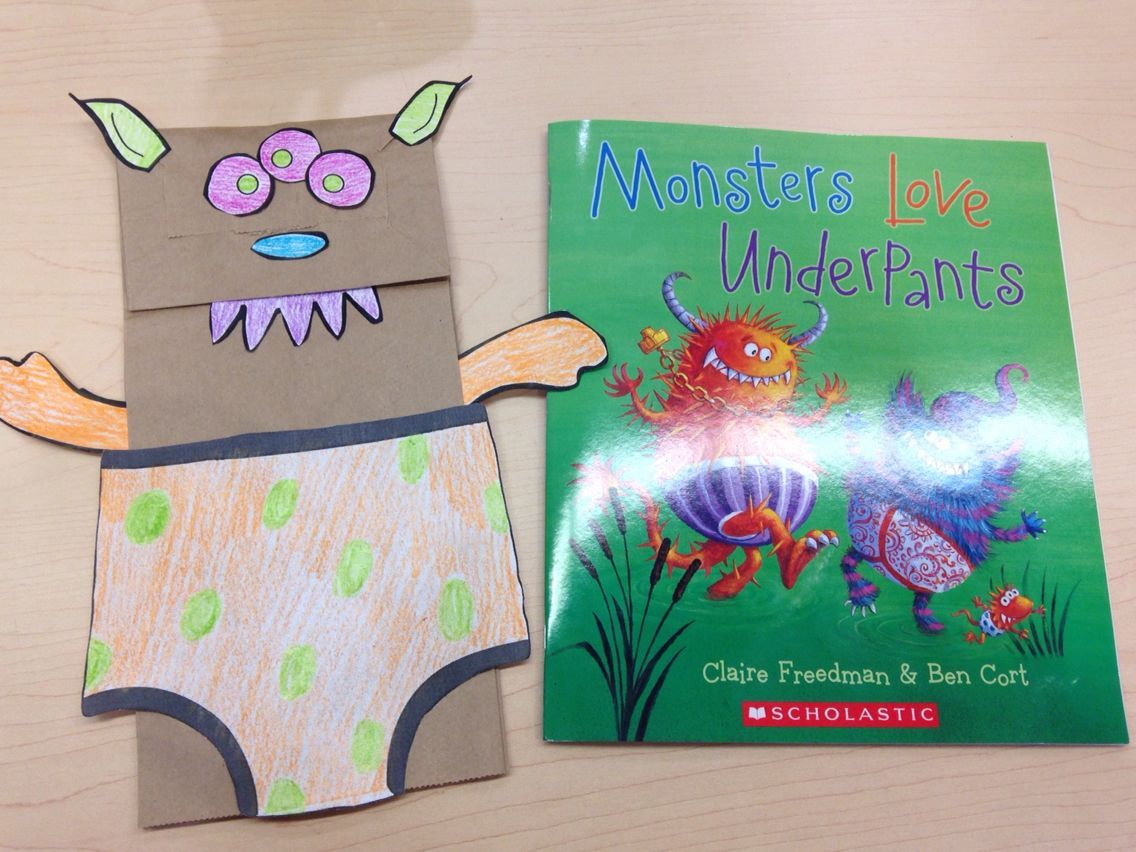 Image Result For Monsters Love Underpants Craft Monster Theme