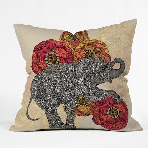 Found it at AllModern - Valentina Ramos Rosebud Throw Pillow