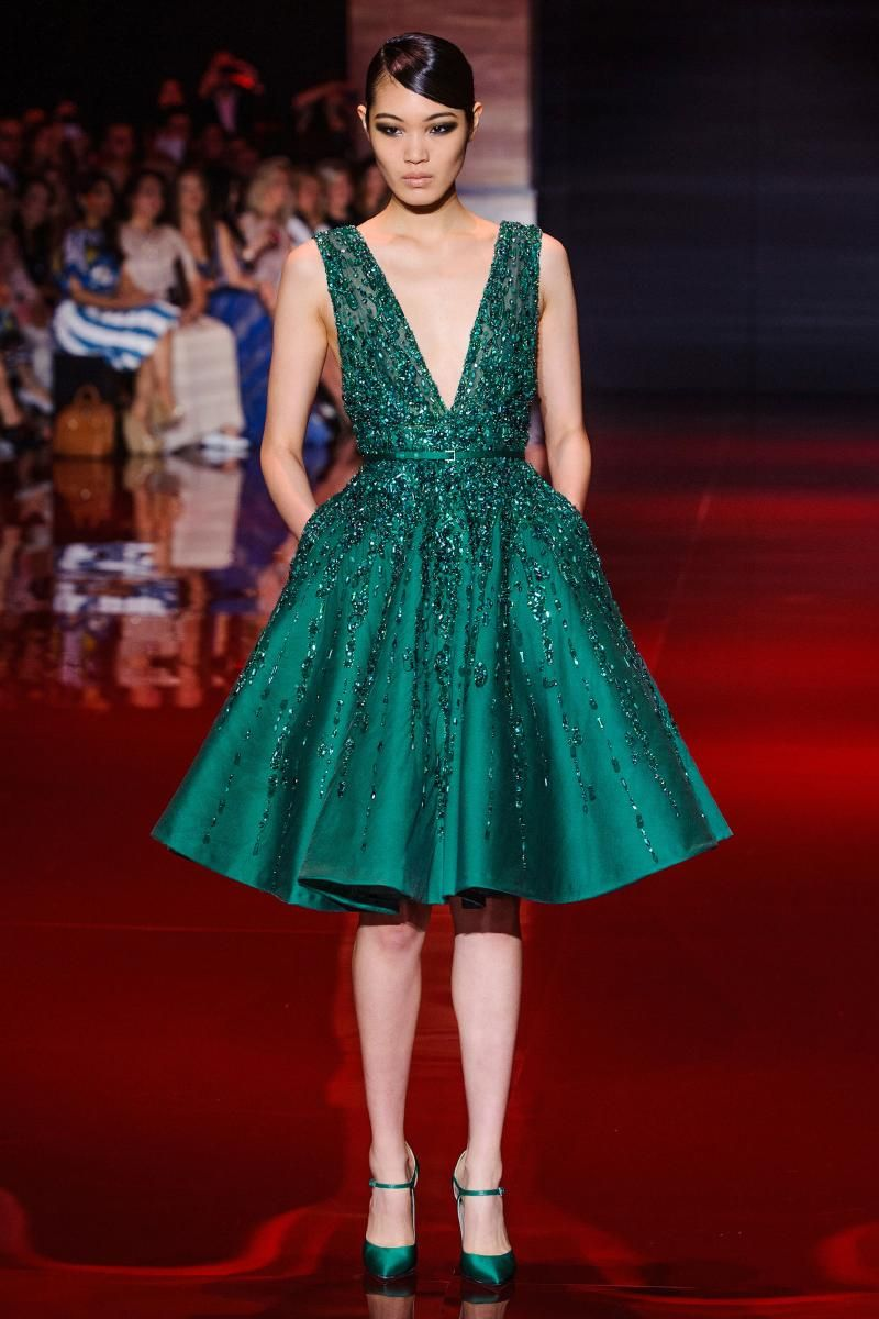 Elie saab art pinterest elie saab fall couture and green gown