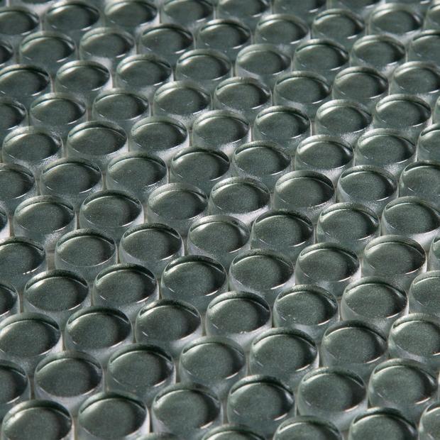 Laurel Glass Penny Mosaic In 2020 Hexagonal Mosaic Glass Tile Penny Tile