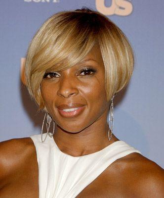 Mary J Blige Bob Hairstyle Thirstyroots Com Black Hairstyles Bob Hairstyles Short Bob Hairstyles Layered Bob Hairstyles