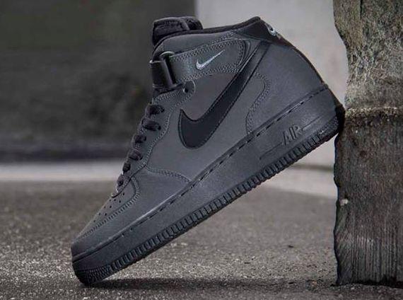 Nike Air Force 1 Mid - Dark Charcoal