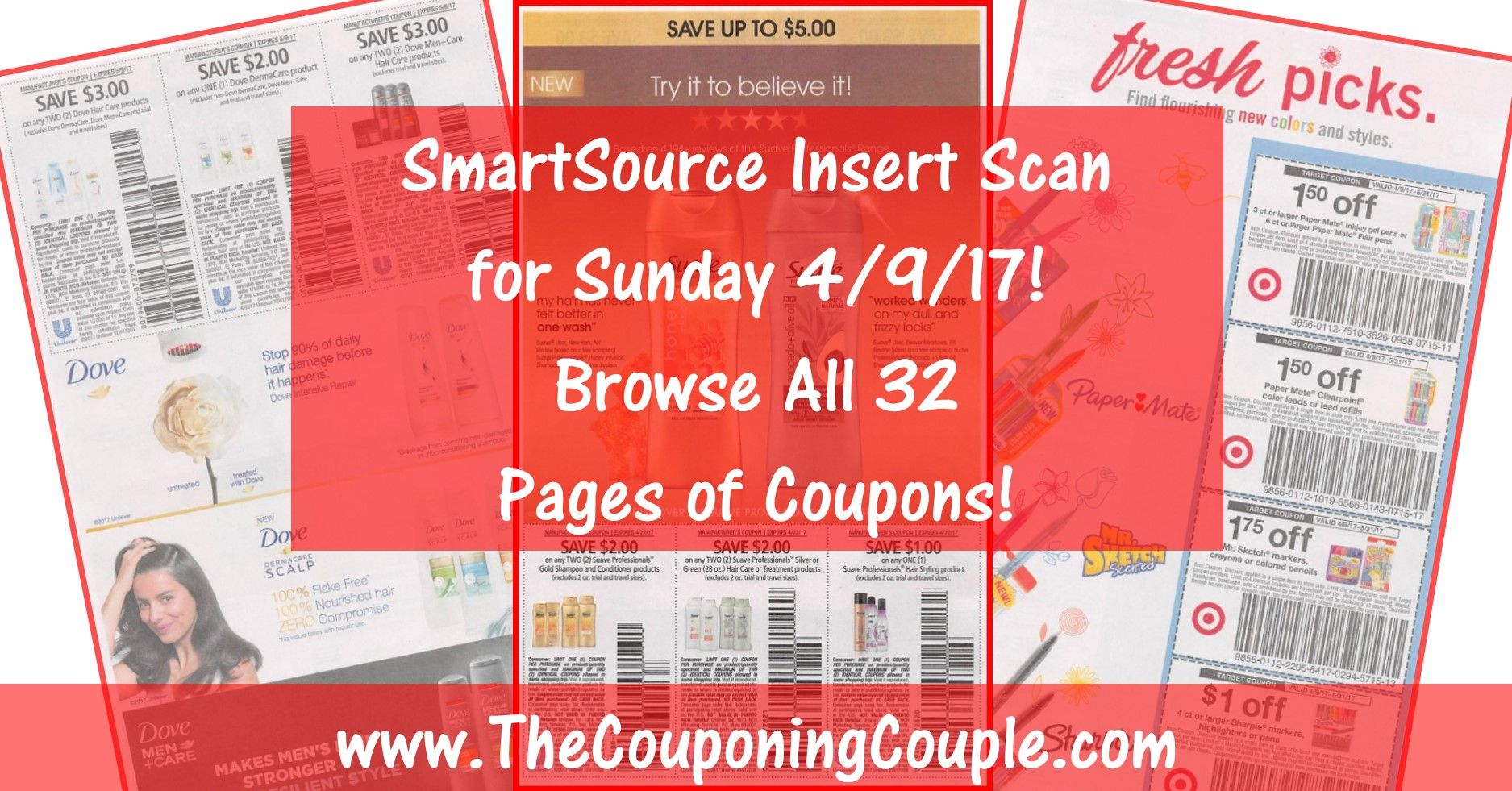 Want To See The Exact Coupons We Are Expecting In Sunday S 4 9 Smartsource Insert Check Out The Actual Scanne Smartsource Coupon Inserts Smartsource Coupons