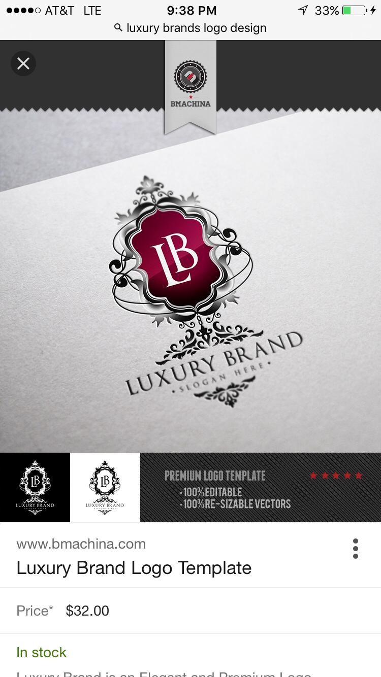 Pin by brett cayton on Luxury Logo | Pinterest | Luxury logo