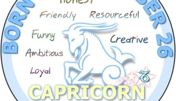 December 26 Birthday Horoscope Personality Sun Signs Birthday Personality Birthday Horoscope Capricorn Birthday