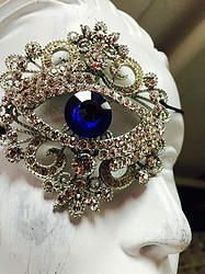 Couture Blue Eye Patch