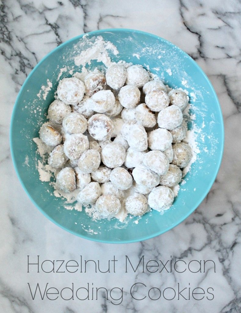 Hazelnut Mexican Wedding Cookies Recipe Mexican