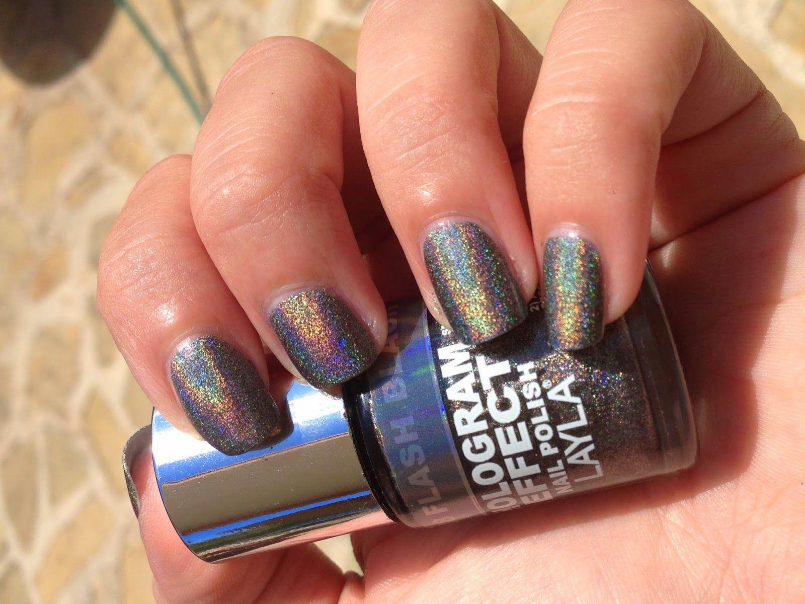 Pretty Little Nails: Holothon 2.0 #6 Layla 08 Flash Black